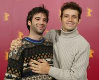 Daniel Hendler and Daniel Burman at the photocall of
