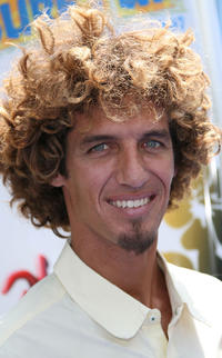 Rob Machado at the premiere of ''Surfs Up.