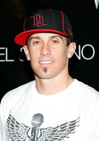Carey Hart at the 50 Cent Performs Poolside.