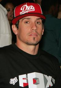 Carey Hart at the Beachers Madhouse show.