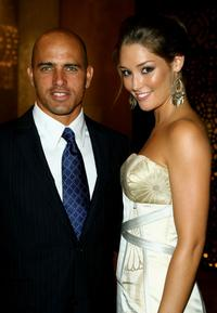 Kelly Slater and Erin McNaught at the Grand Prix Ball during the 2007 FORMULA 1TM ING Australian Grand Prix.