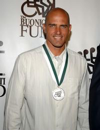 Kelly Slater at the 22nd Annual Great Sports Legends Dinner.