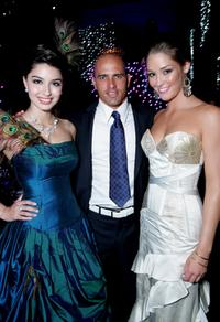 Sabrina Houssami, Kelly Slater and Erin McNaught at the Grand Prix Ball during the 2007 FORMULA 1TM ING Australian Grand Prix.