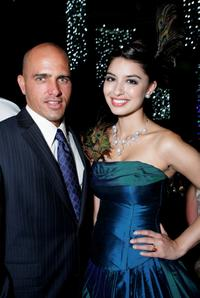 Kelly Slater and Sabrina Houssami at the Grand Prix Ball during the 2007 FORMULA 1TM ING Australian Grand Prix.