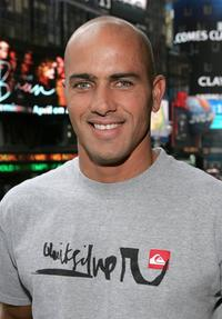 Kelly Slater at the MTV Total Request Live.