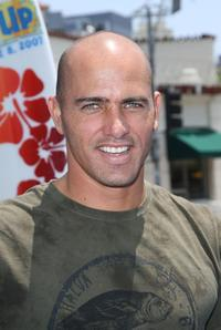 Kelly Slater at the premiere of