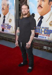 Mike Vallely at the premiere of