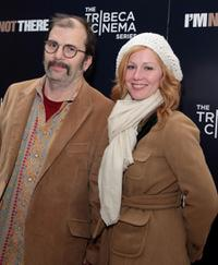 Steve Earle and Allison Moorer at the special cocktail reception and panel discussion of