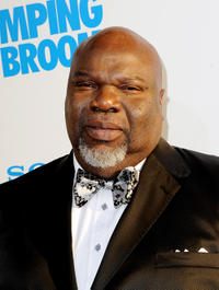 T.D. Jakes at the California premiere of