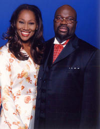 Yolanda Adams and T.D. Jakes at the United Negro College Fund Television Special