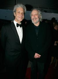 Robert Towne and Rick Messina at the 2006 Filmmakers' Tribute Dinner during the Sarasota Film Festival.