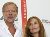 Pascal Greggory and Isabelle Huppert at the photocall of