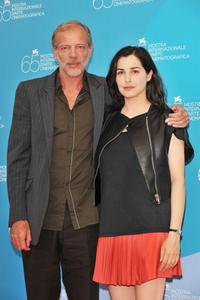 Pascal Greggory and Amira Casar at the photocall of