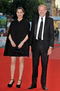 Amira Casar and Pascal Greggory at the premiere of