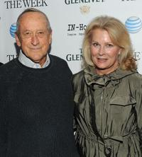 Andre Gregory and Candice Bergen at the screening of