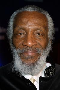 Dick Gregory at the Jackie Robinson Foundation 2001 Awards Dinner.