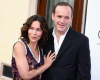 Jennifer Grey and her husband Clark Gregg at the Chrysalis' 5th Annual Butterfly Ball at the home of Fred and Carla Sands.