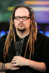 Jonathan Davis at the MTV's Total Request Live.
