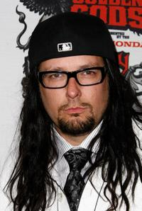 Jonathan Davis at the 1st Annual Epiphone Revolver Golden Gods Awards.