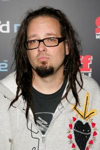 Jonathan Davis at the Amp'd Mobile & Stuff Magazine Pre-VMA Bash.