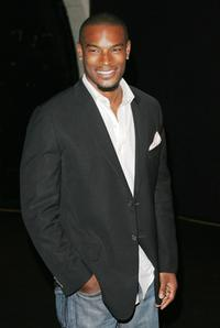 Tyson Beckford at the Marc Jacobs fashion show during the Mercedes-Benz Fashion Week Spring 2008.