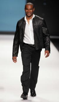 Tyson Beckford at the FashionWeekLive.