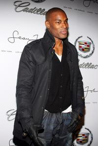 Tyson Beckford at the after party of Sean John Fall 2008.
