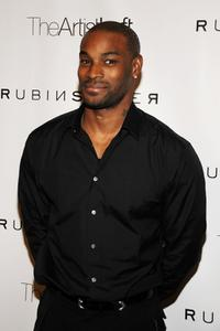 Tyson Beckford at the Rubin Singer Fall 2008 fashion show during the Mercedes-Benz Fashion Week Fall 2008.