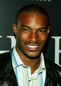 Tyson Beckford at the after party for the launch of the Tommy Hilfiger H Collection Line.