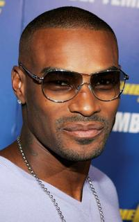 Tyson Beckford at the premiere of