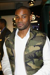 Tyson Beckford at the Mercedes-Benz Fashion Week Fall 2008.
