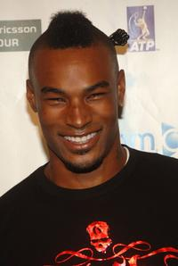 Tyson Beckford at the Glam Slam 06 party.