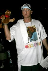 Eminem at the 2005 MTV Movie Awards.