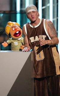 Eminem at the 2003 MTV Video Music Awards.