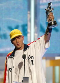 Eminem at the MTV Video Music Awards.