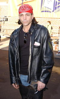 Richard Grieco and his guest at the