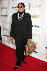 Pam Grier at the New York premiere of Showtime's