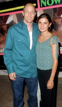 Jonathan Gries and Micol Bartolucci at the premiere of