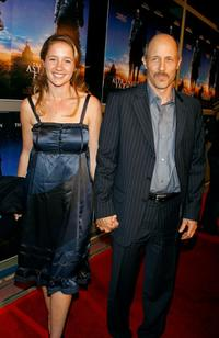 Jonathan Gries and Guest at the premiere of
