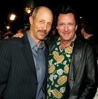 Jonathan Gries and Michael Madsen at the premiere of