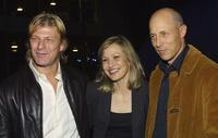 Sean Bean, Joey Lauren Adams and Jonathan Gries at the premiere of