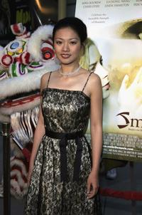 Yi Ding at the premiere of