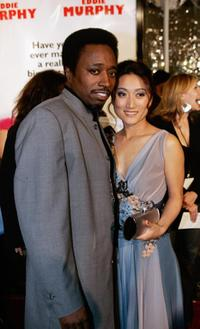 Eddie Griffin and Guest at the premiere of