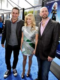 Director Rob Letterman, Reese Witherspoon and Conrad Vernon at the premiere of