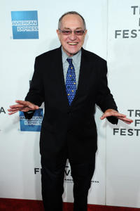 Alan Dershowitz at the premiere of
