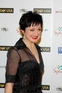 Caroline O'Connor at the opening night celebration of G'DAY USA: Australia Week.