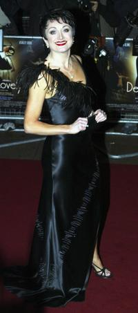 Caroline O'Connor at the UK premiere of