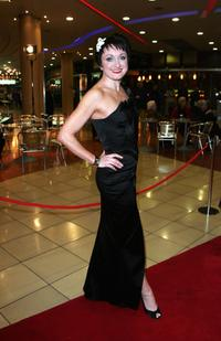 Caroline O'Connor at the 2008 Helpmann Awards.