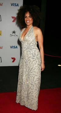 Christine Anu at the Channel Seven's TV