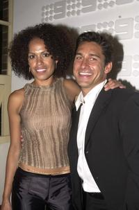 Christine Anu and Jamie Durie at the Launch of Channel 9 2001 Season.